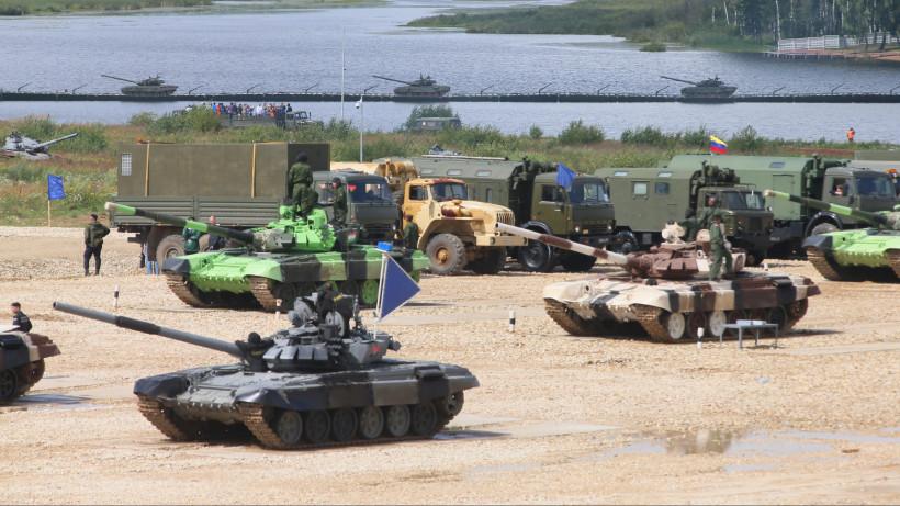 Открытие Армейских международных Игр-2015