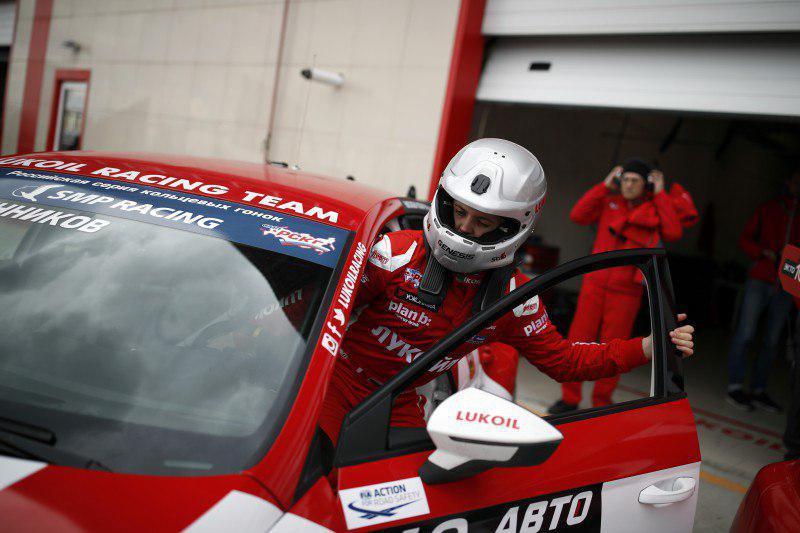 Андрей Масленников стартует на втором этапе чемпионата России по кольцевым гонкам