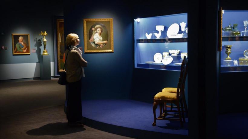 Воробьев открыл обновленную экспозицию в музейно-выставочном комплексе «Новый Иерусалим»