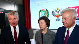 Подписано Соглашение между Минспортом России, Правительством Ханты-Мансийского автономного округа – Югры и ПАО «Лукойл» о создании социально-спортивной инфраструктуры на территории ХМАО