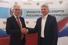 Рабочая встреча Павла Колобкова с губернатором Ульяновской области Сергеем Морозовым