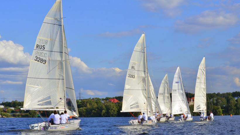 Яхт-клуб «Галс» на Пироговском водохранилище