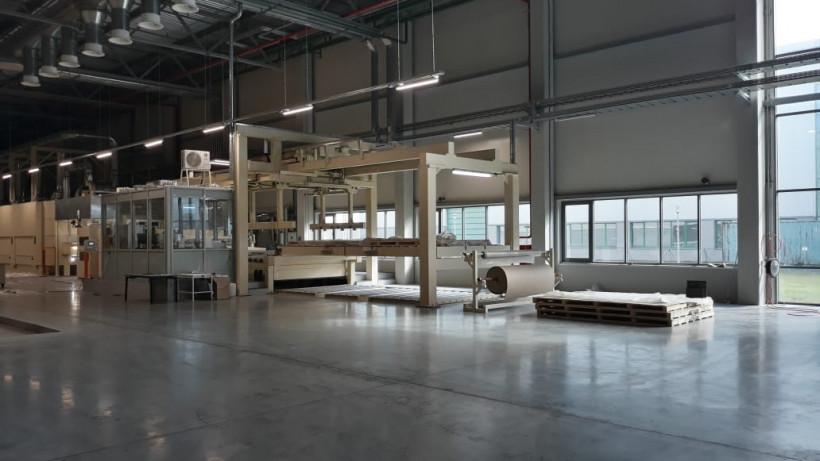 Корпус завода по производству декоративной бумаги построили в Чехове