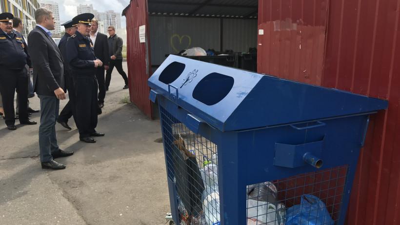 Предприятия в Подмосковье стали более ответственно относиться к вывозу мусора
