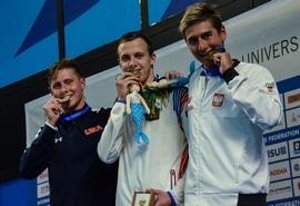 Российские спортсмены выиграли новые медали на XXX Всемирной летней универсиаде