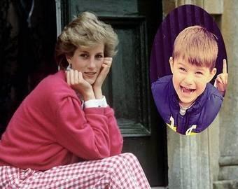 Телеведущий утверждает, что его сын - реинкарнация принцессы Дианы