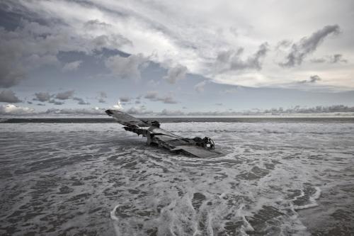 Самолет Grumman HU-16 Albatross, который разбился в августе 2004 года в Мексике и никто не погиб.