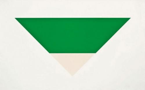 Эльсуорт Келли. «Зеленое белое» — 1,6 млн долларов.