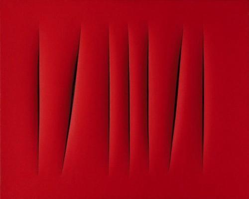 Лучо Фонтана. «Пространственная концепция. Ожидание» — 1,5 млн долларов.