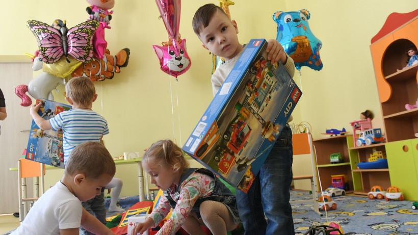 Воробьев открыл детский сад в Ашукино