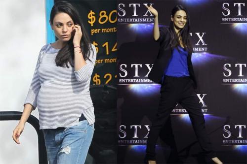 """Мила Кунис, 36 лет Голливудская актриса украинского происхождения знает толк в похудении. В 2010 году Мила похудела ради съемок в фильме """"Черный лебедь"""" до 41 кг."""