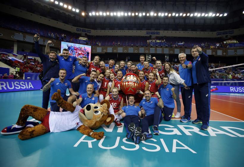 Подмосковная волейболистка Татьяна Юринская в составе сборной России завоевала путевку на Олимпиаду