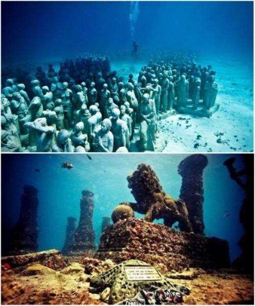 Эта своеобразная «Капсула времени» под водой сохраняется намного лучше, нежели на поверхности, потому что не подвержена влиянию ветра, природных стихий и катаклизмов, а также естественной эрозии.