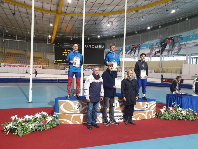 Даниил Краснокутский занял второе место на первом этапе Кубка России по шорт-треку