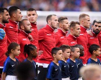 Французы по ошибке включили гимн Андорры на матче с Албанией, а потом извинились перед Арменией
