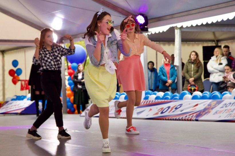 Танцевальная «Битва парков Подмосковья» прошла в Одинцово