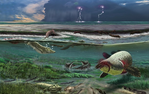 Опровергнута теория эволюции четвероногих