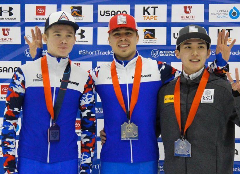 Александр Шульгинов завоевал бронзу I этапа Кубка мира по шорт-треку