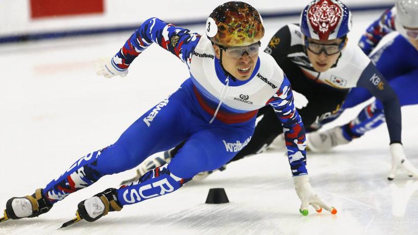 Александр Шульгинов завоевал бронзу на этапе Кубка мира по шорт-треку