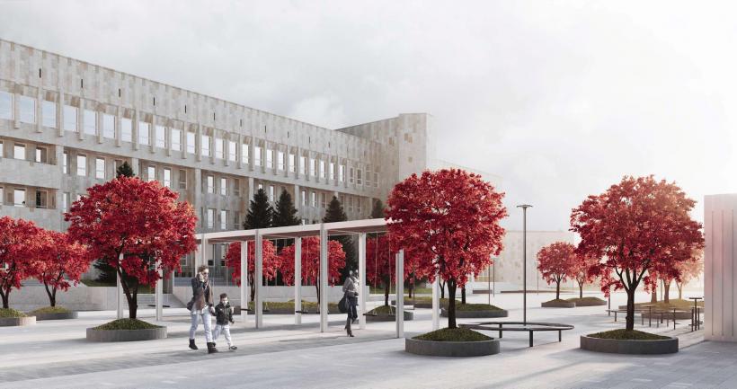 Проект благоустройства общественного пространства в Ступине