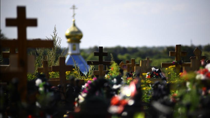 Кладбище в деревне Поповка Троицкого административного округа