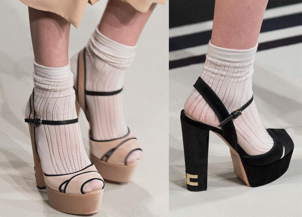 Открытая обувь и носки – теперь модное сочетание