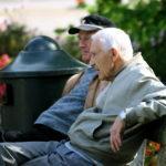 Уход на престарелым человеком