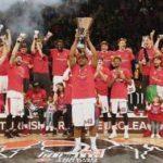 Баскетболисты московского ЦСКА в четвёртый раз выиграли Евролигу