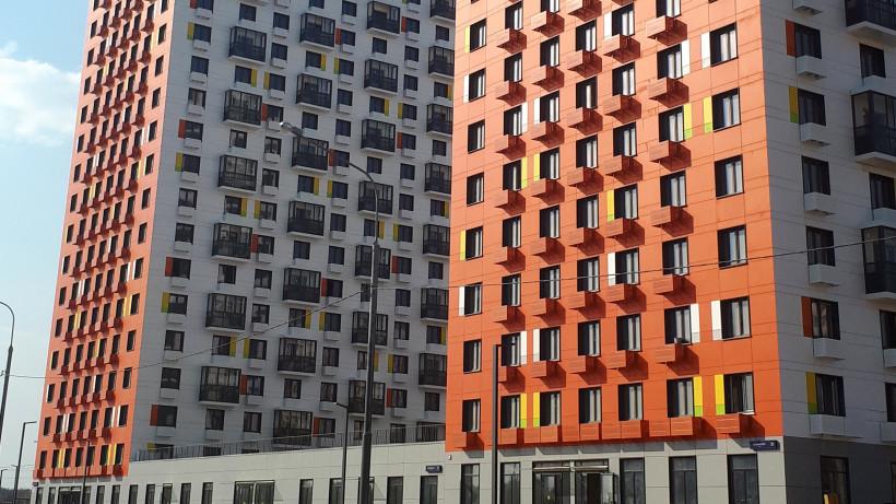 Два жилых дома построили в Ленинском районе