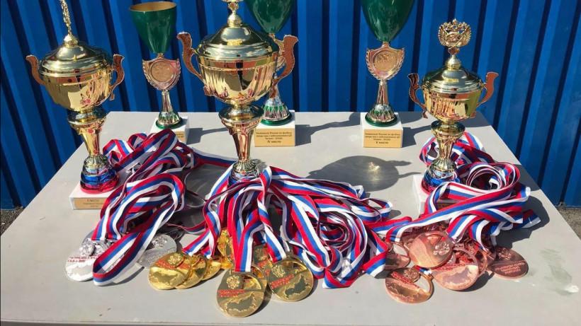Две золотые и серебряную медали Кубка России по гребле выиграли подмосковные спортсмены