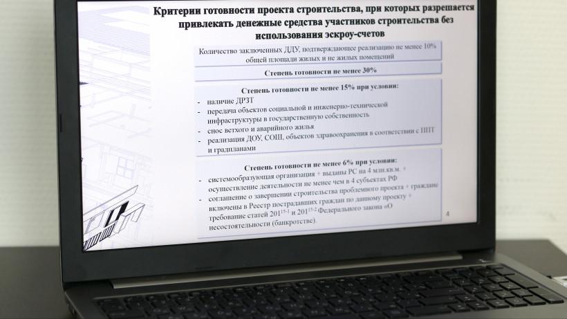 Главгосстройнадзор начнет контролировать строительную готовность проектов в Подмосковье