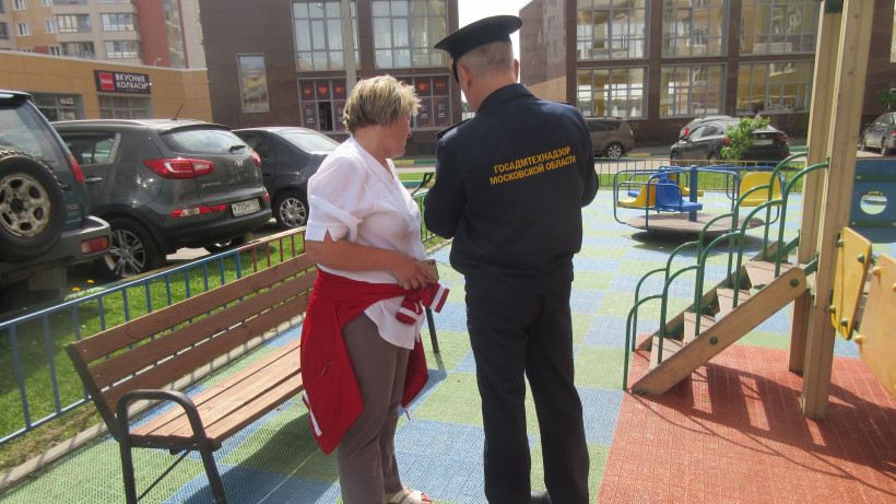 Госадмтехнадзор проверил все детские площадки в Ленинском районе