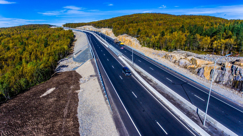 Строительство окружной автомобильной дороги в Домодедове