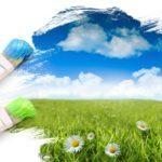 Конкурс «Мы рисуем солнце, небо и цветок»