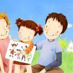Конкурс рисунков «Папа, мама и я – дружная семья»