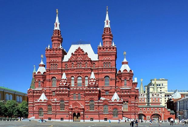 Открытие всероссийской акции «Ночь музеев» в Государственном историческом музее