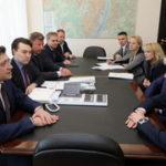 Павел Колобков и губернатор Нижегородской области Глеб Никитин провели совещание по вопросам организации Международного спортивного форума «Россия - спортивная держава»