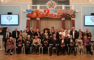Павел Колобков встретился с ветеранами спорта в преддверии Дня Победы
