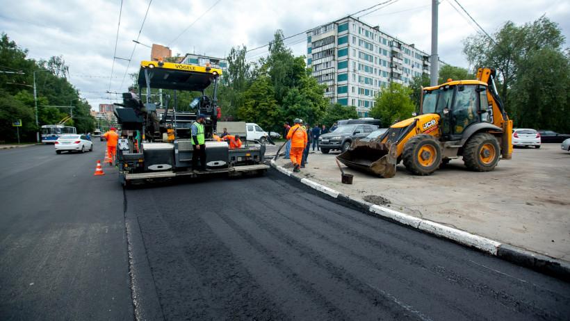 Почти 130 участков дорог отремонтируют в Подмосковье к концу сентября