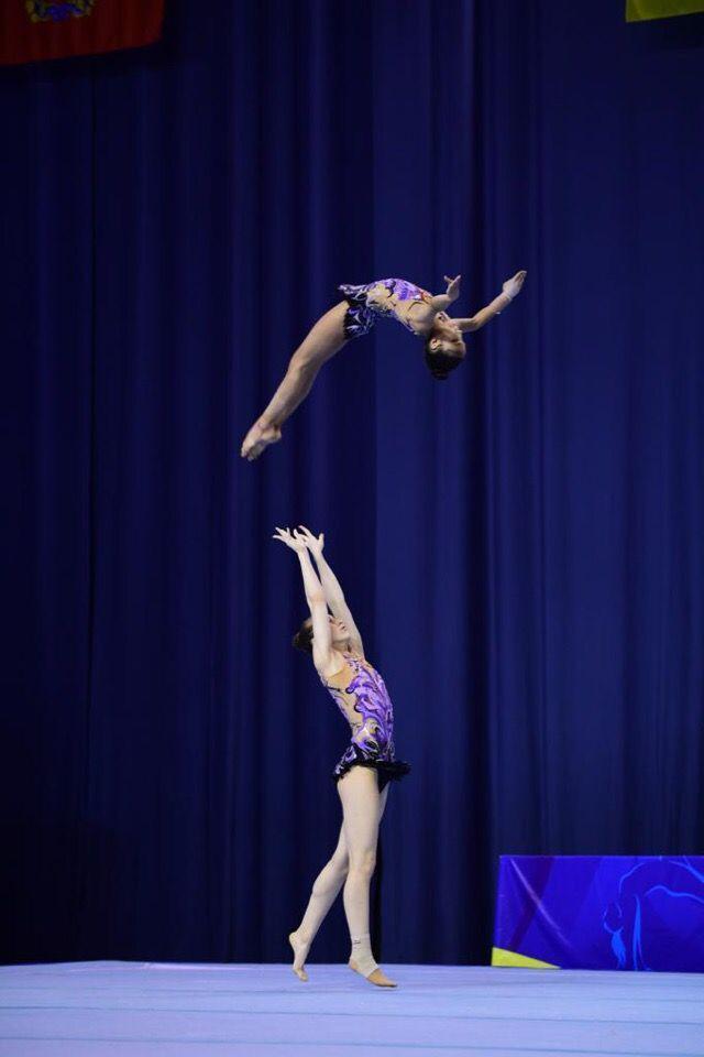Подмосковные акробаты завоевали четыре золотые медали на чемпионате России