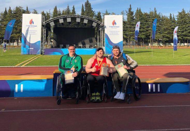 Подмосковные паралимпийцы завоевали золотые медали Всероссийских соревнований в Сочи
