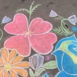 Рисование на асфальте «Рисуют дети»