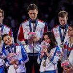 Российские фигуристы - бронзовые призёры командного Чемпионата мира в Японии