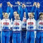 Российские синхронистки выиграли Кубок Европы в Санкт-Петербурге и завоевали путёвки на Игры XXXII Олимпиады 2020 года в Токио
