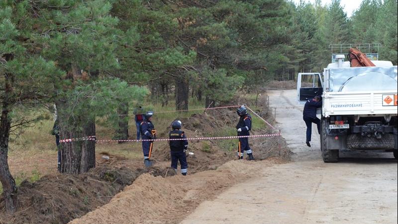 Семьдесят боеприпасов времен Великой Отечественной войны уничтожили в Подмосковье в 2019 году