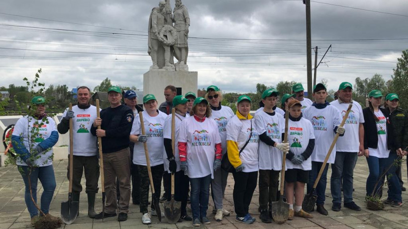 Сотрудники Госжилинспекции Подмосковья приняли участие в акции «Лес Победы»