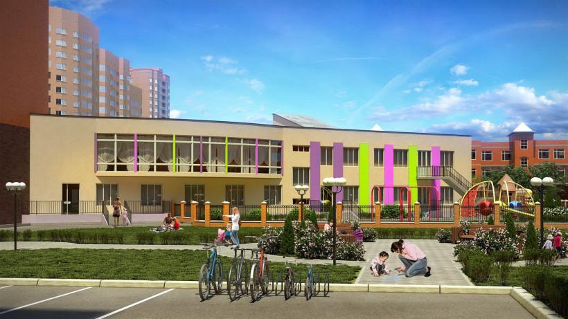 Строительство детского сада на 155 мест стартовало в Ленинском районе