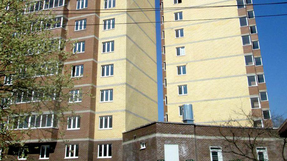 Строительство дома в жилом комплексе «Зеленый город» завершили в Пушкинском районе