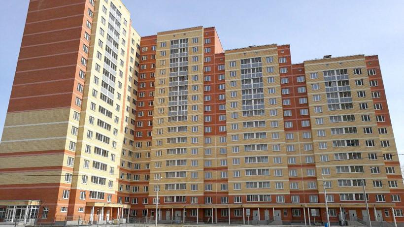 Строительство дома завершили в жилом комплексе «Плещеево» в Подольске