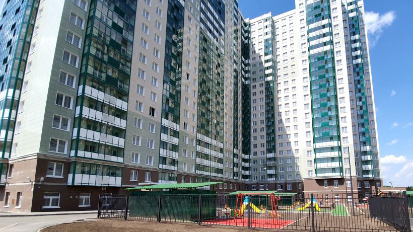 Строительство корпуса 17 жилого комплекса «Изумрудные холмы» завершили в Красногорске
